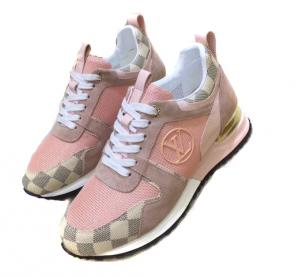acheter shoes women louis vuitton cowhide stitching pink